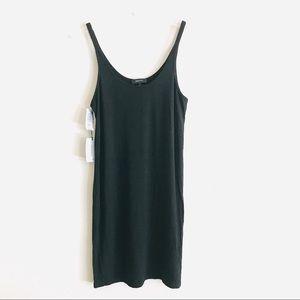 Babaton Dresses - NWT Aritzia Babaton Travis Black Tank Dress Large